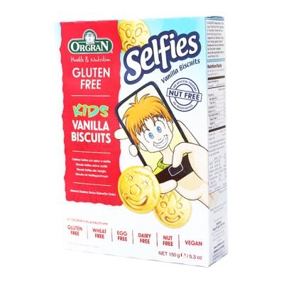 Orgran Vanilla Smiley Biscuits 150g