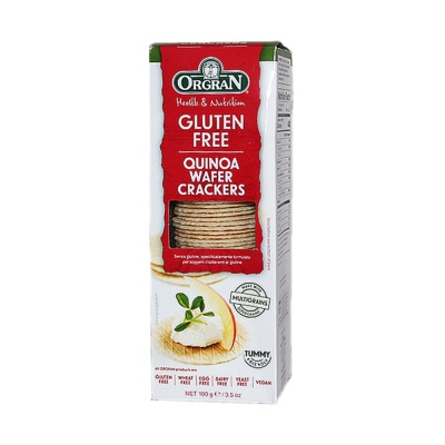 Orgran Quinoa Wafer Crackers (Gluten Free) 100g