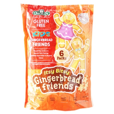 Orgran Gingerbread Friends Biscuits 150g