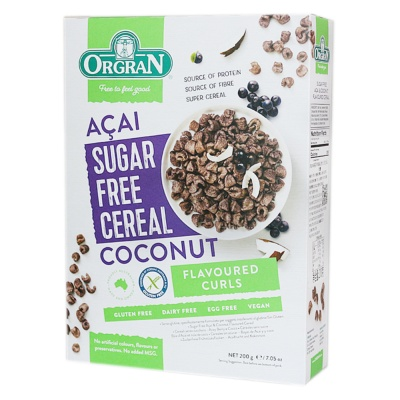 Orgran Coconut Flavoured Cereal 200g