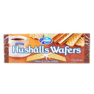 Utvalda Chocolate Wafer 185g