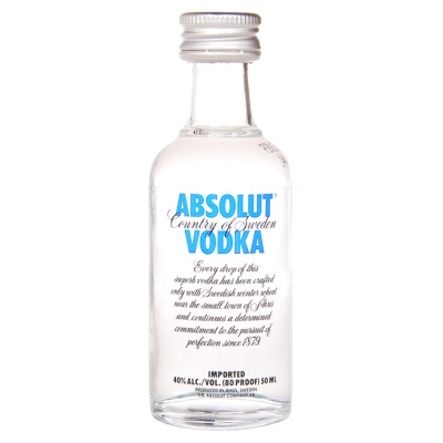 Absolut 50ml