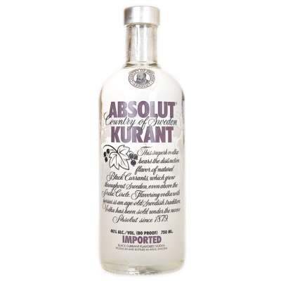 Absolut Vodka Kurant 750ml