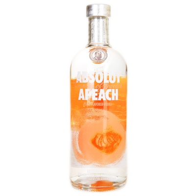 Absolut Vodka Honey Peach 750ml
