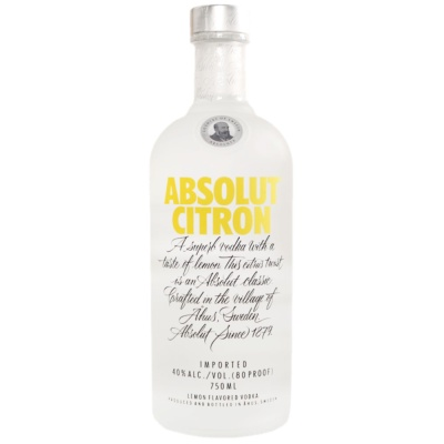 Absolut Vodka Citron 700ml