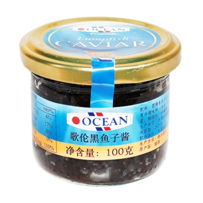 歌伦黑鱼子酱 100g