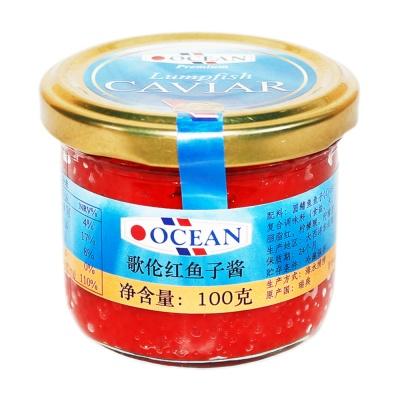 歌伦红鱼子酱 100g