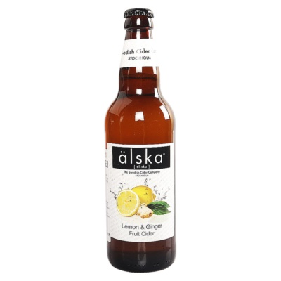 Alska Lemon & Ginger Fruit Cider 500ml