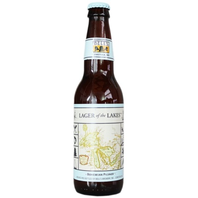 Bell's Lager Of The Lakes Pilsner 355ml