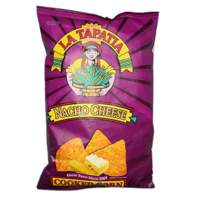 La Tapatia Nacho Cheese Flavored Tortilla Chips 283.5g