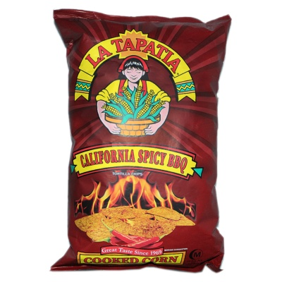 La Tapatia California Spicy BBQ Flavored Tortilla Chips 283.5g