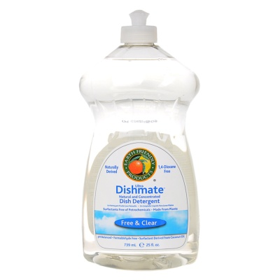 Earth Friendly Dishmate Free & Clear Dish Detergent 739ml