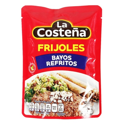 La Costena Refried Pinto Beans 220g