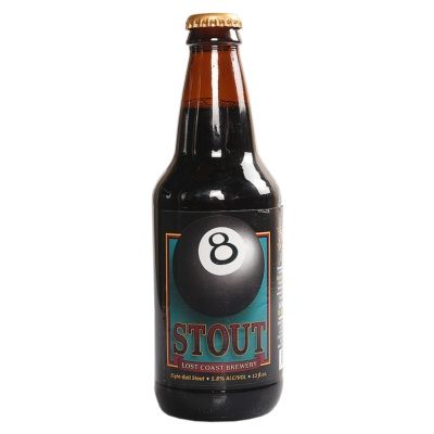 Lost Coast Eight-ball Stout 355ml