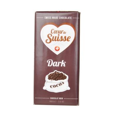 Villars Coeur de Suisse Dark Chocolate 100g