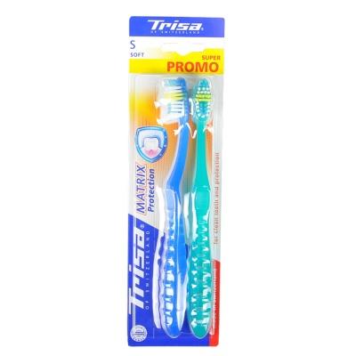 Trisa Matrix Protection Soft-bristle Toothbrush 2pcs