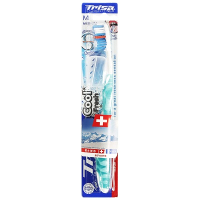Trisa Cool & Fresh Medium Toothbrush 1p