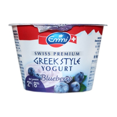 Emmi Swiss Greek Style Blueberry Yogurt 2% 150ml