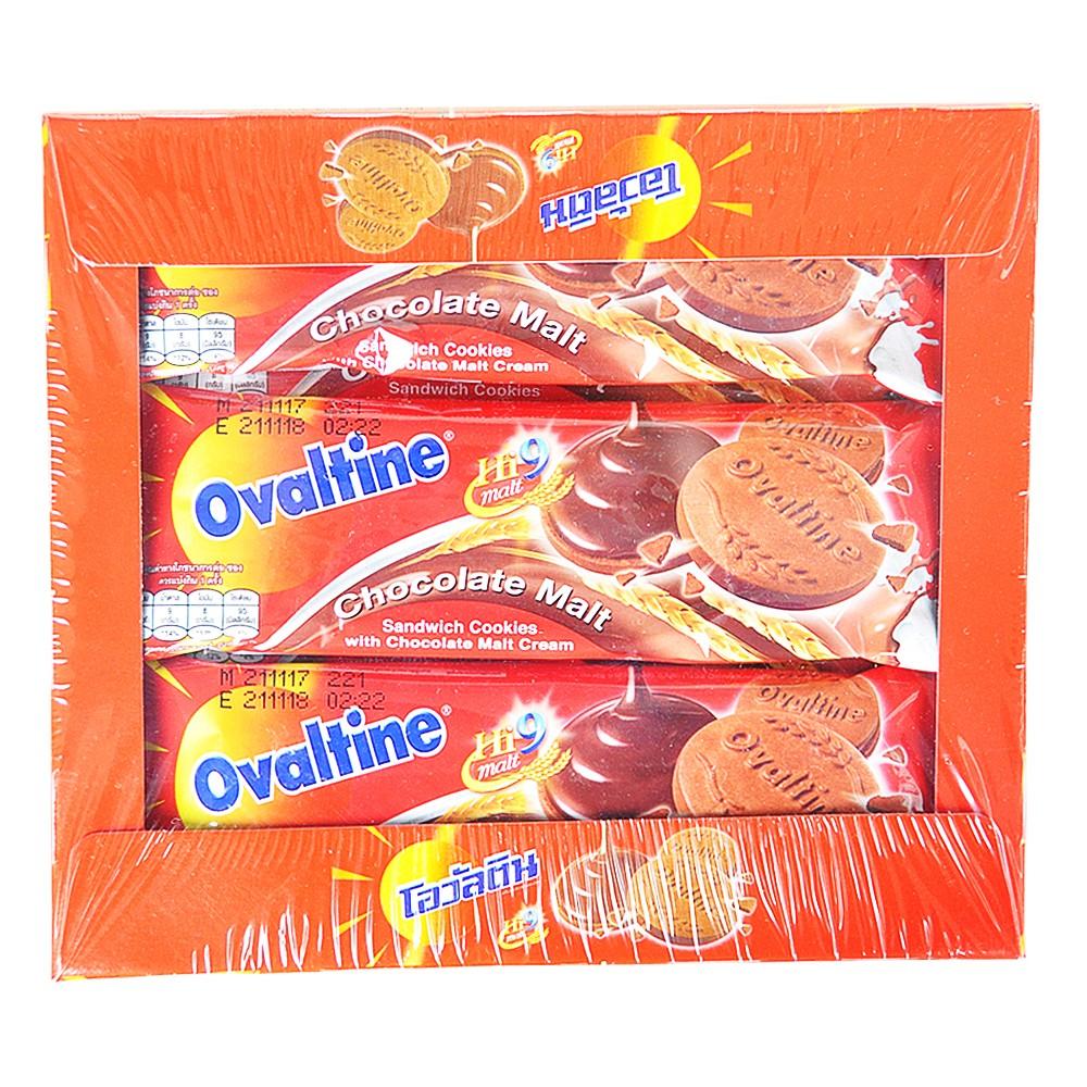 Ovaltine Chocolate Malt Sandwich Cookies 360g