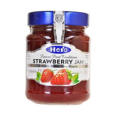 Hero Strawberry Jam 340g