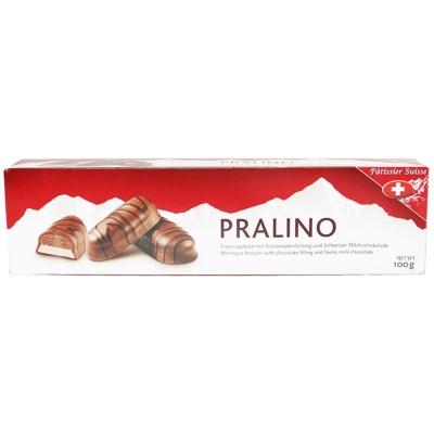 瑞士帕蒂诗牛奶巧克力酥饼 100g