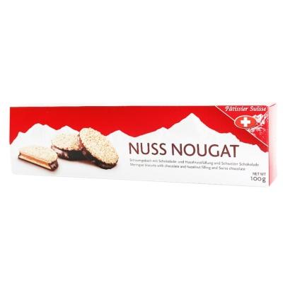 Patissier Suisse Nuss Nougat 100g