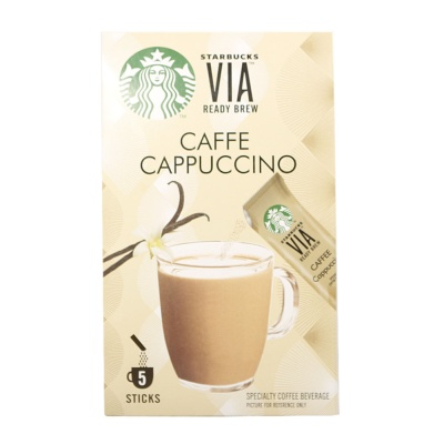 Starbucks Via Ready Brew Caffe Cappuccino 125g