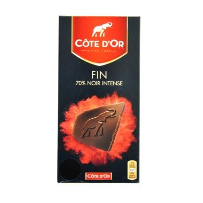 克特多金象70%特醇浓黑巧克力 100g
