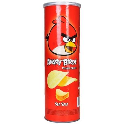 Angry Birds Sea Salt Potato Crisps 160g