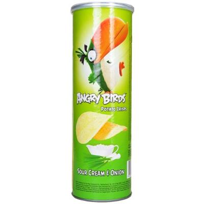 Angry Birds Sour Cream & Onion Potato Crisps 160g
