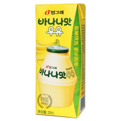 Binggrae Banana Milk Drink 200ml