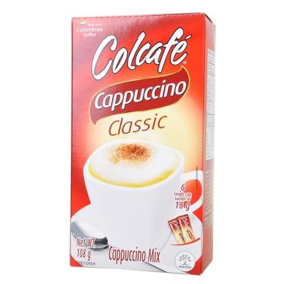 Colcafe Cappuccino Coffee Classico 108g
