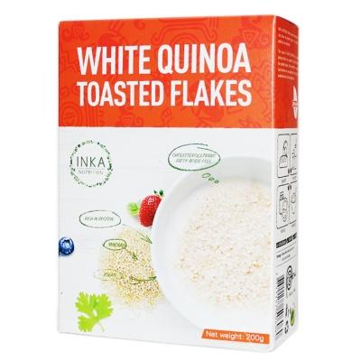 Inka Nutrition White Quinoa Toasted Flakes 200g