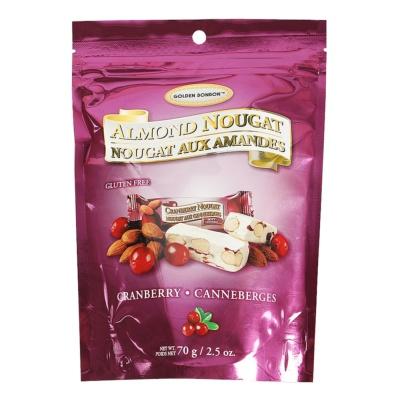 Golden Bonbon Honey Almond Cranberryy Nougat 70g