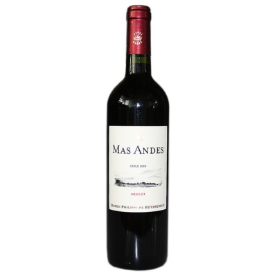 Mas Andes Merlot Red Wine 750ml