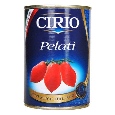 Cirio Pomodori Pelati/Peeled Tomatoes 400g