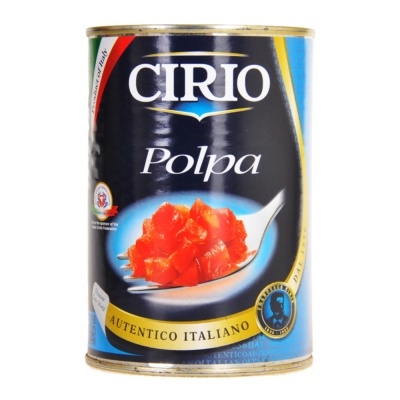 Cirio Polpa Chopped Tomatoes 400g