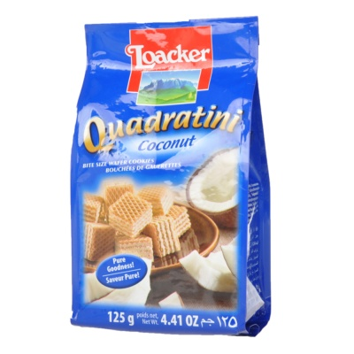 Loacker Coconut Wafer Cookies 125g