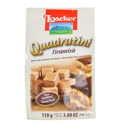 Loacker Tiramisu Wafer Cookies 110g