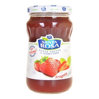 圣塔玫瑰纯草莓果酱 350g