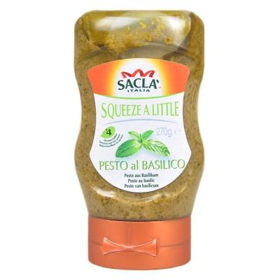 萨克拉牌多用途罗勒调味汁 270g