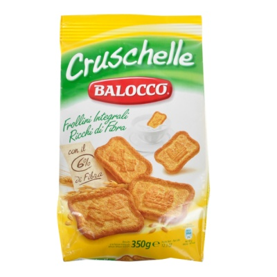 Balocco Cruschelle Whole Wheat Biscuits 350g