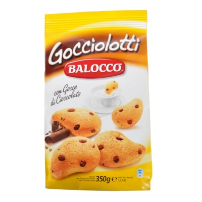 Balocco Biscuits with Chocolate Chips 350g