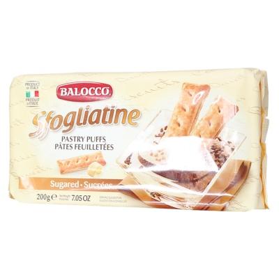 Balocco Sfogliatine Zuccherate (In Cartone Espositore) 200g