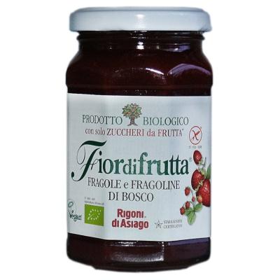 Rigoni Di Asiago Strawberry And Wild Strawberry Jam 250g