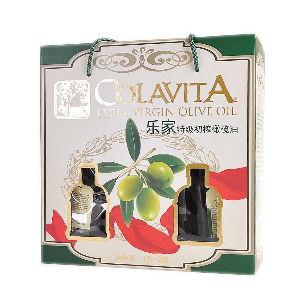 Colavita Extra Virgin Olive Oil Gift Box 1L*2
