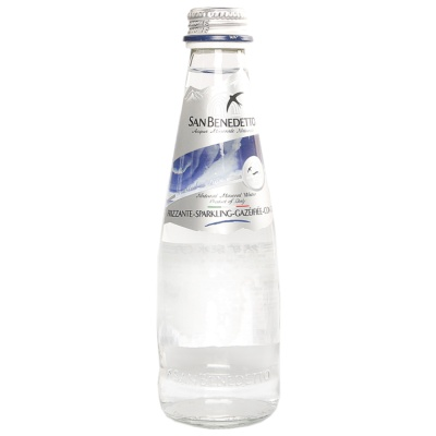San Benedetto Mineral Water Sparkling (Glass Bottle) 250ml
