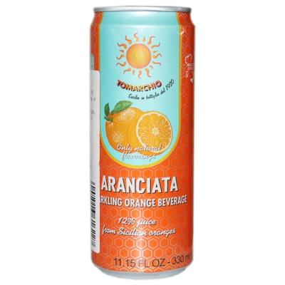 Tomarchio Sparkling Orange Beverage 330ml