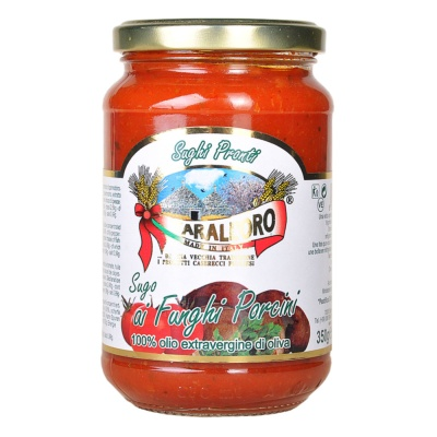Taralloro Porcini Tomato Pasta Sauce 350g