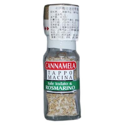 Cannamela Iodized Sea Salt And Rosemary 30g